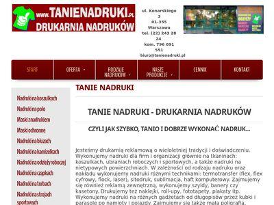 Tanienadruki.pl agencja reklamowa
