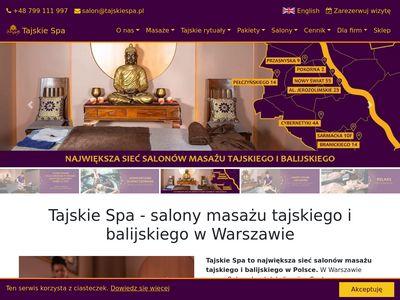 Tajskiespa.pl - masaż tajski