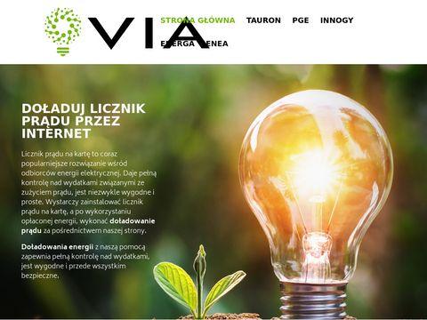 Rachunki, kredyty, lokaty - via.com.pl
