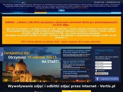 Vertis.pl zdjęcia cyfrowe