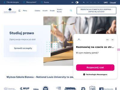 Wsb-nlu.edu.pl - Wyższa Szkoła Biznesu
