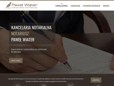 Wiater.pl - notariusz Kraków