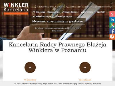 Winkler kancelaria sąd