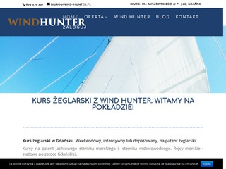 Wind-hunter.pl weekendowy kurs żeglarski