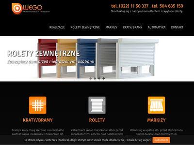 Wego.org.pl rolety zewnętrzne