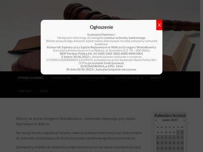 Walcz.e-komornik.com
