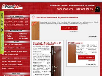 Warszawa-drzwi.pl montaż i wymiana