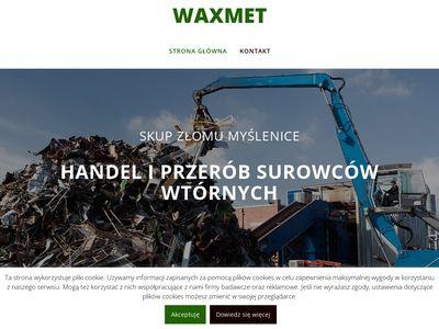 Waxmet - skup złomu Myślenice