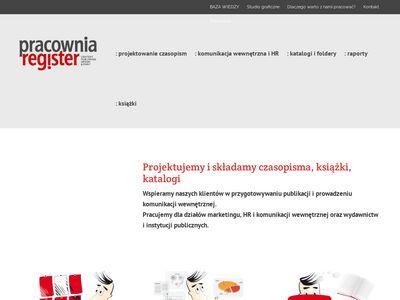 Pracowniaregister.pl biuletyn firmowy