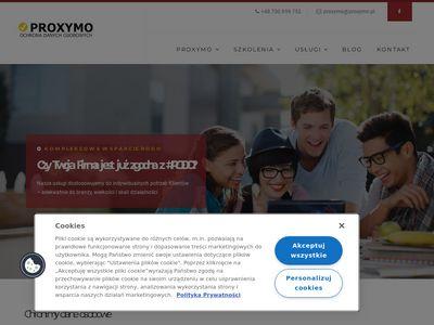 Proxymo.pl audyt zgodności z rodo
