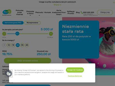 Provident.pl - bezpieczne pożyczki