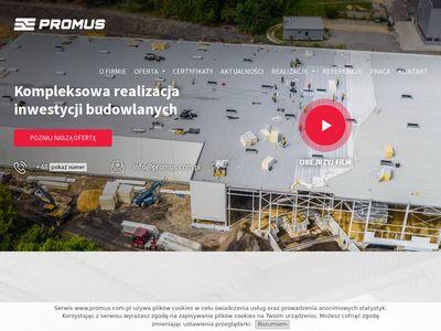 Promus.com.pl budowa hal stalowych