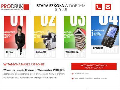 Drukarnia i Wydawnictwo PRODRUK