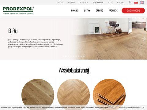 Prodexpol - deski tarasowe i podłogowe