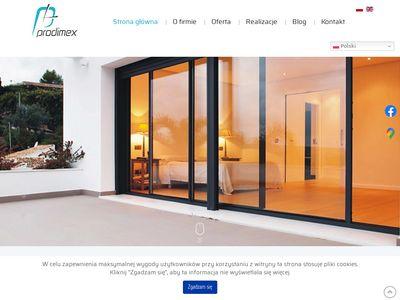 Prodimex ogrody zimowe Łódź