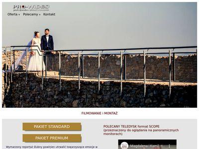 Pro-Wideo, Nowy Sącz, wideofilmowanie
