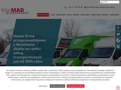 Marmad transport mebli Wrocław