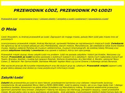 Przewodnik-lodz.eu trasy turystyczne