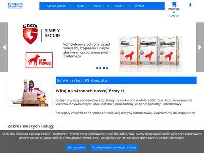 Pskomputer.pl serwis komputerowy
