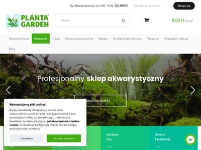 Plantagarden.pl akwarium na zamówienie