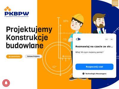 Pkbpw.pl - projekt hali produkcyjnej