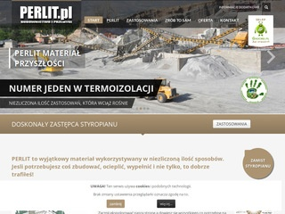 Perlit.pl nowoczesne materiały budowlane