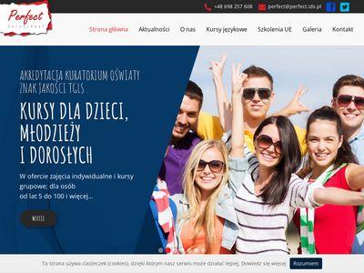 Perfect.ids.pl - angielski Białystok
