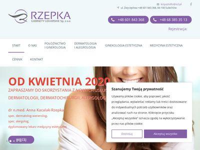 Rzepka.lek-med.pl - ginekologia