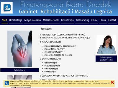 Rehabilitacjamasaz.legnica.pl gabinet