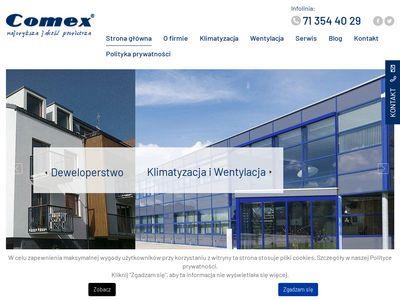 Comex montaż klimatyzacji Wrocław