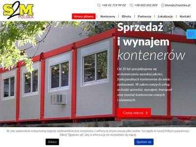 S2M Polska wynajem kontenerów Łódź