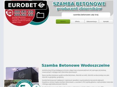 Szambabetonowe48.pl najdłuższa gwarancja