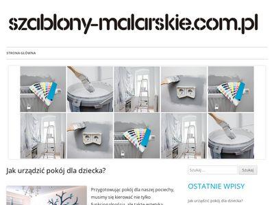 Szablony-malarskie.com.pl dekoracje ścian