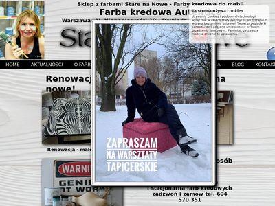 Starenanowe.pl - farby kredowe sklep