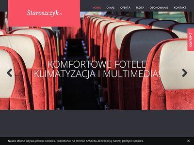 Staroszczyk.eu wynajem autokarów