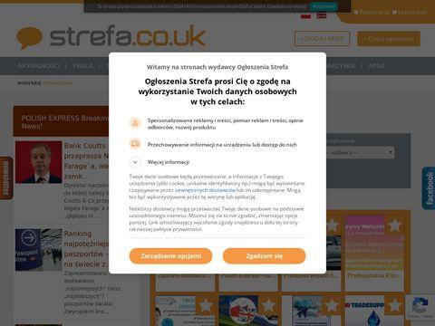 Ogłoszenia Londyn - strefa.co.uk