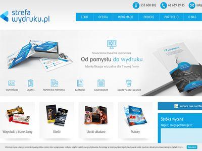 Strefawydruku.pl - ulotki reklamowe