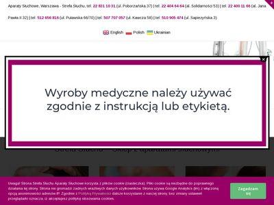 Strefasluchu.pl aparaty słuchowe sklep