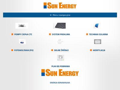 Sun Energy produkcja pomp ciepła