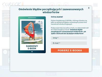Surfski.pl kurs kitesurfingu