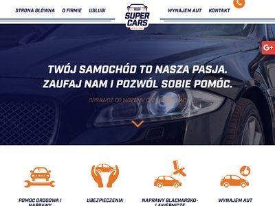Super Cars holowanie Inowrocław