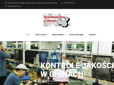Sprawdzeniefirmywchinach.pl