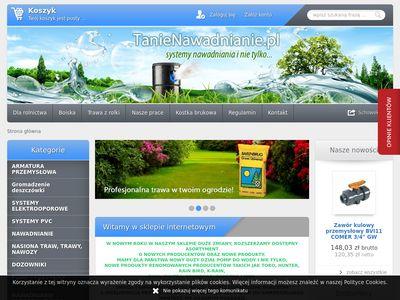 Sklep.tanienawadnianie.pl systemy