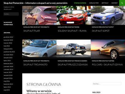 Skupautpomorskie.info.pl baza skupów