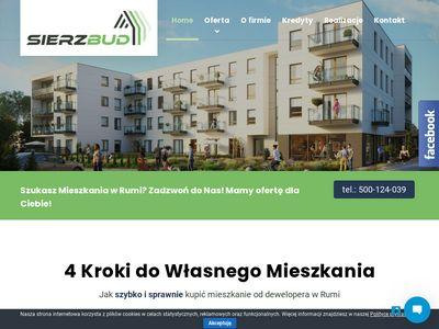 Sierzbud.pl mieszkania Rumia deweloper