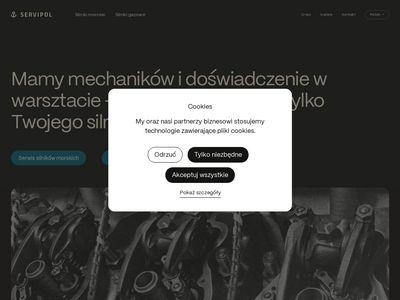 Servipol naprawa silników okrętowych