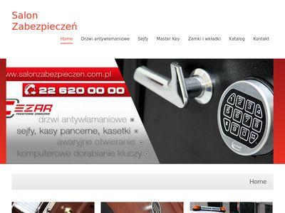 Drzwi gerda, Szafy pancerne Warszawa