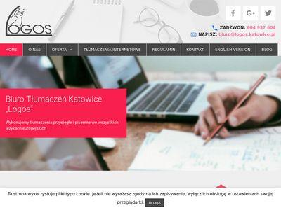 Logos - tłumaczenia Katowice