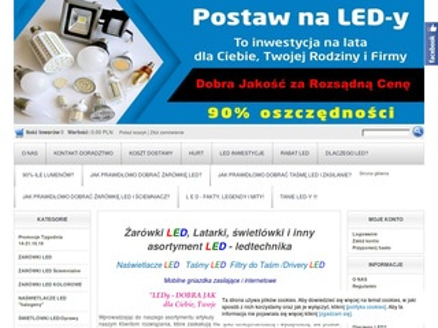 Ledtechnika.sklepna5.pl żarówki led