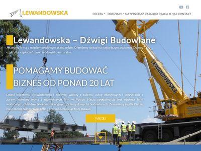Lewandowska-Dzwigi.pl - żurawie